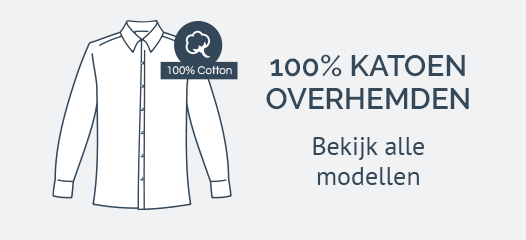 100% Katoenen Overhemden