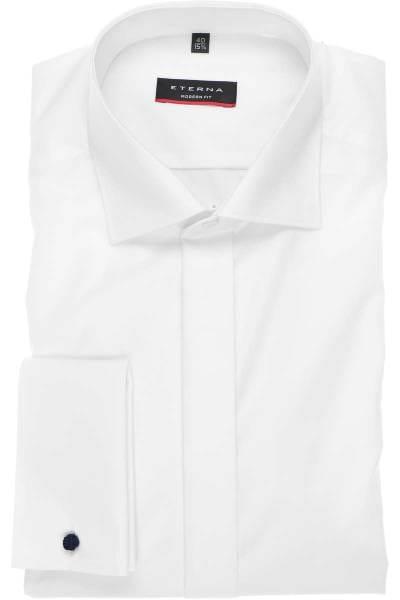 Eterna Hemd - Gala - Modern Fit, extra langer Arm - weiss, Einfarbig