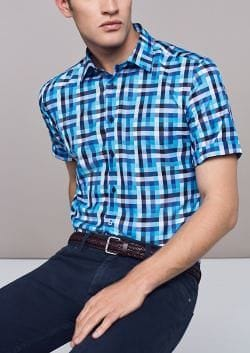 Eterna Kurzarmhemd