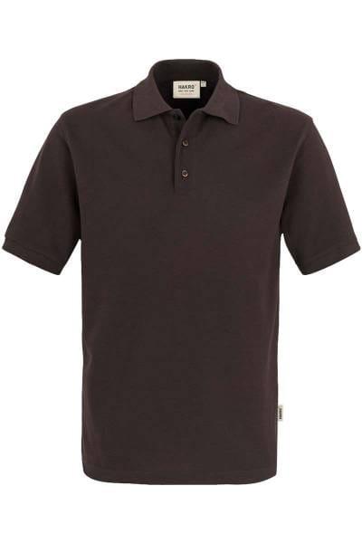 HAKRO Comfort Fit Poloshirt schokolade, Einfarbig