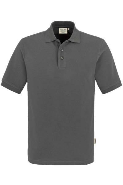 HAKRO Regular Fit Poloshirt graphit, Einfarbig