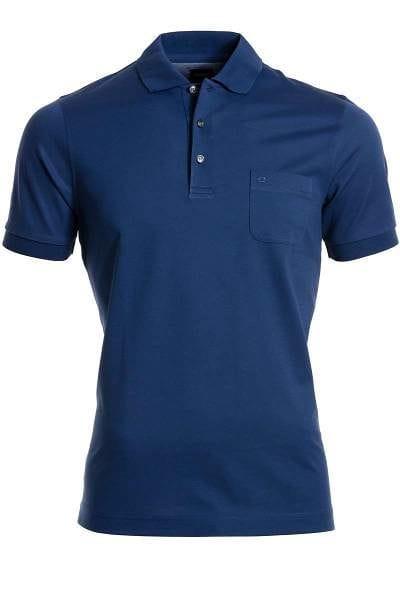 Olymp Modern Fit Poloshirt indigo, Einfarbig