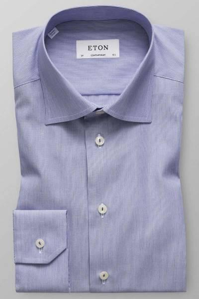ETON Contemporary Fit Hemd blau/weiss, Feinstreifen