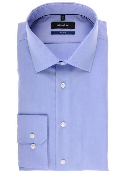 Seidensticker Tailored Hemd hellblau, Strukturiert