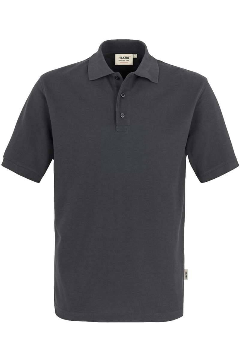 HAKRO Comfort Fit Poloshirt anthrazit, Einfarbig