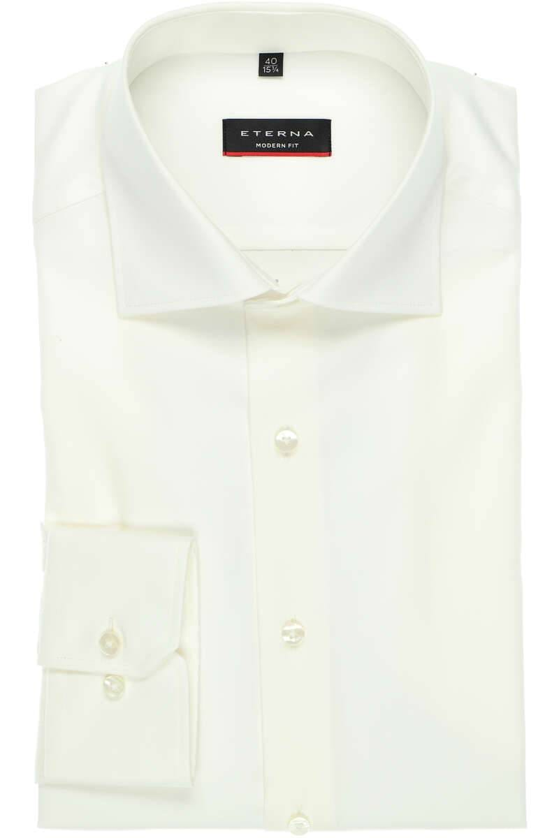 Eterna Mordern Fit Twill Cover Shirt White