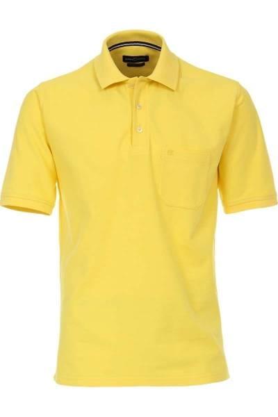 Casa Moda Poloshirt gelb, Einfarbig