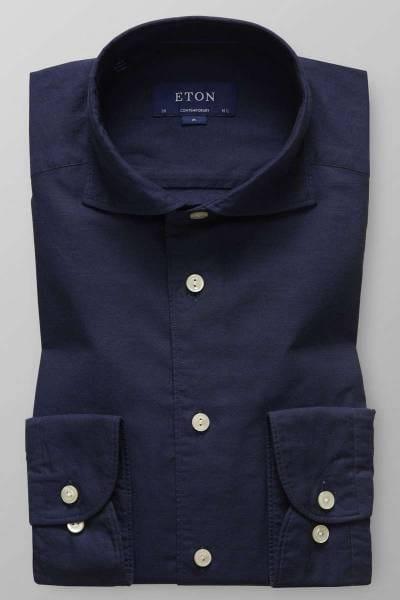 ETON Contemporary fit Hemd navy, Einfarbig