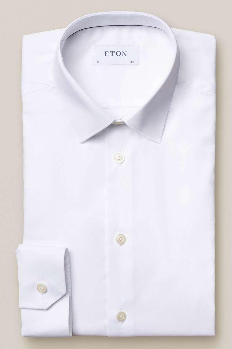 ETON Super Slim Hemd weiss, Einfarbig 40 - M
