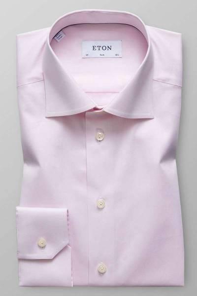 ETON Slim Fit Hemd rosa, Einfarbig
