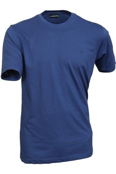 Casa Moda T-Shirt - Rundhals - marine, Einfarbig