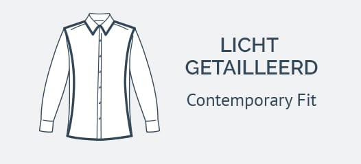Eton Contemporary Fit Overhemden