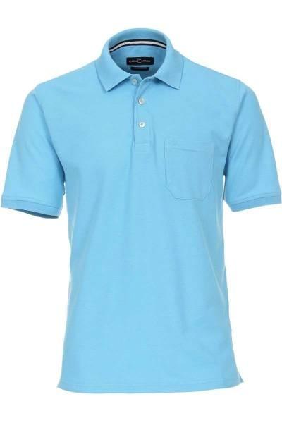 Casa Moda Poloshirt blau, Einfarbig