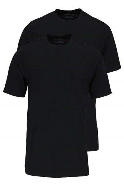 Casa Moda T-Shirt - Rundhals - schwarz, Einfarbig