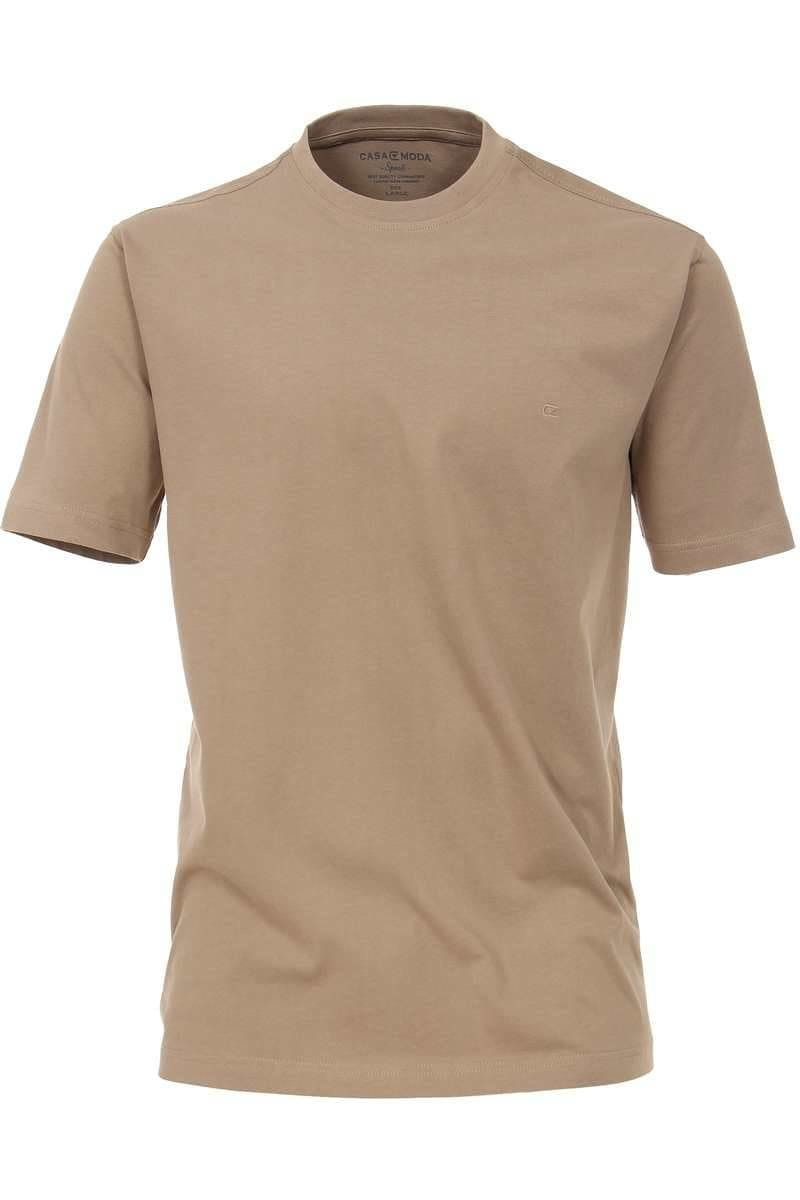 Casa Moda T-Shirt braun, Einfarbig