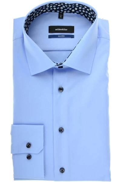 Seidensticker Tailored Hemd hellblau, Einfarbig