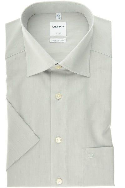 Olymp Hemd - Comfort Fit - silbergrau, Einfarbig