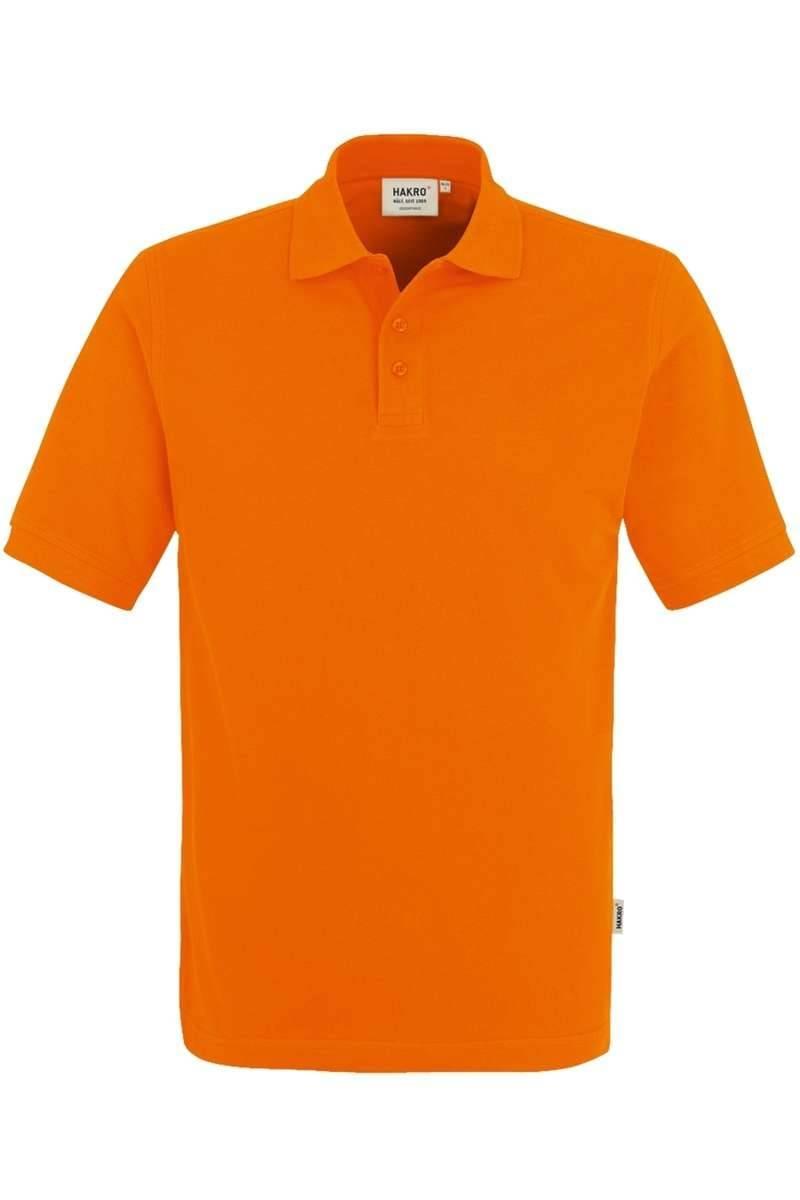 HAKRO Regular Fit Poloshirt orange, Einfarbig