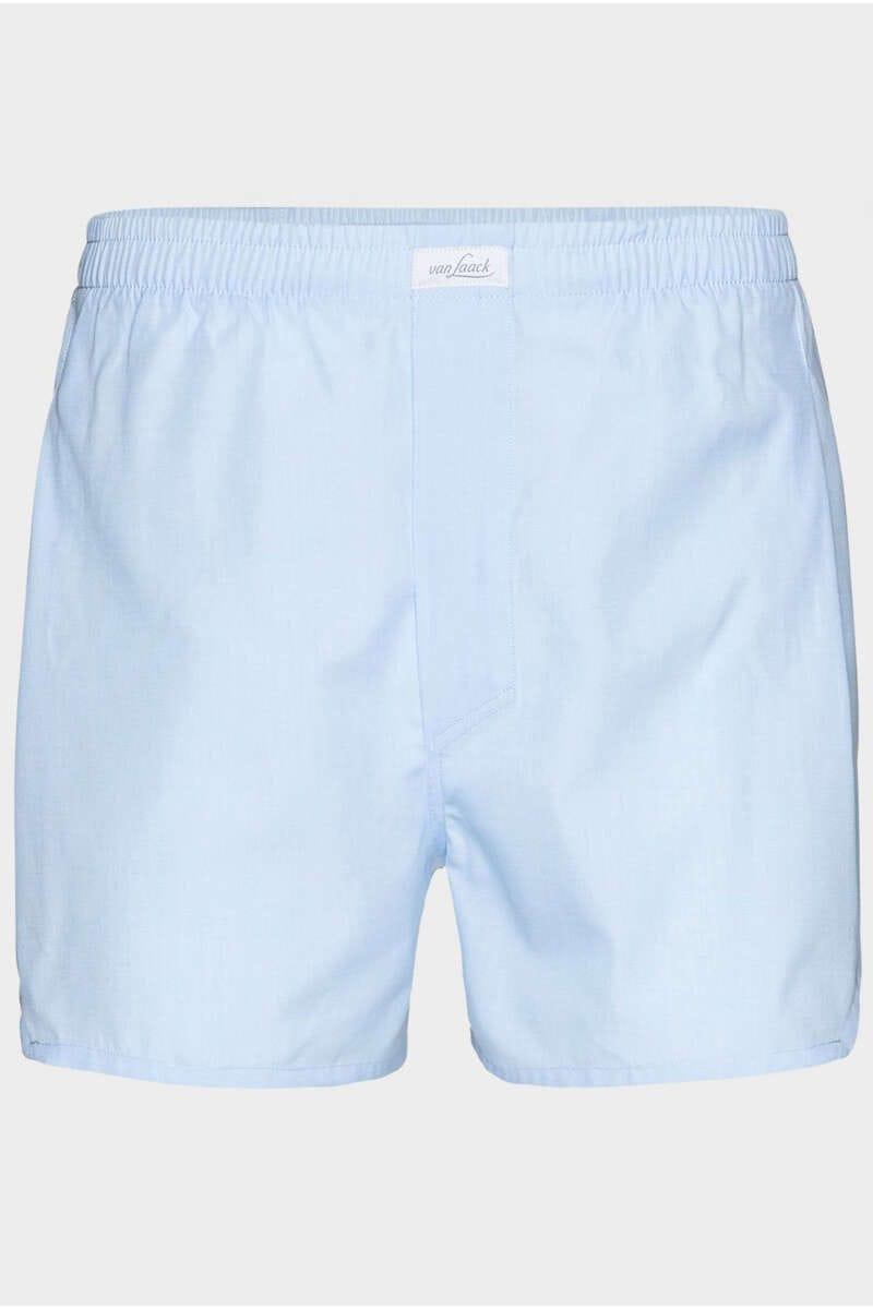 van Laack Boxershorts hellblau, einfarbig 50